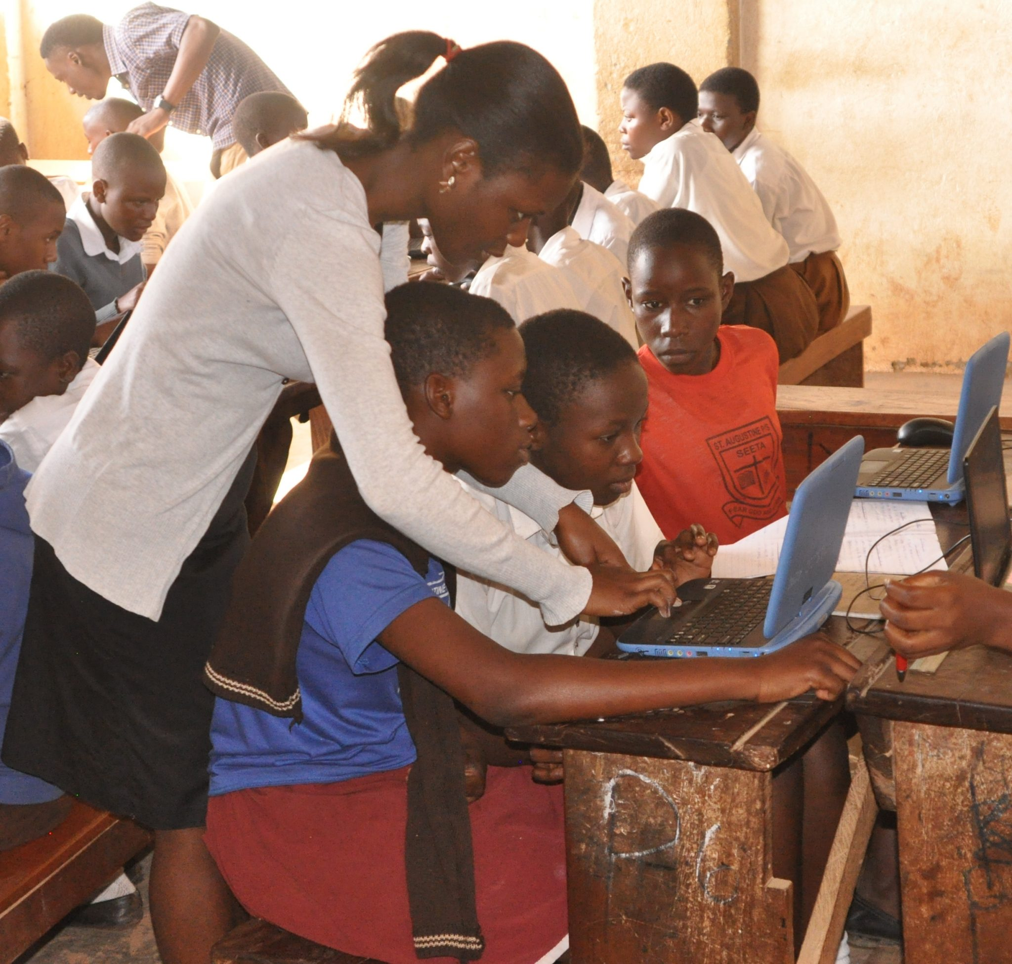 Veronica's passion to empower girls and women with ICT skills